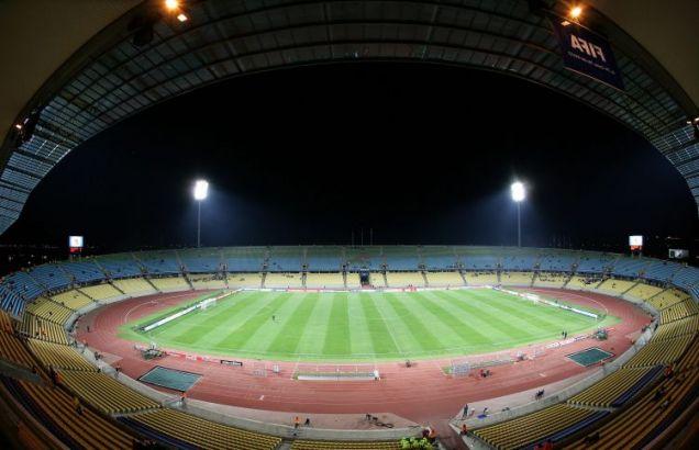 The Rustenburg Stadium is 1,500metres above sea level.
