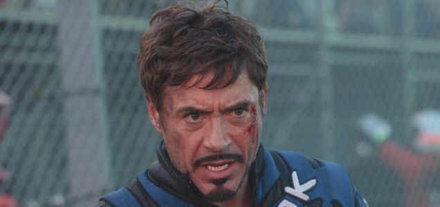Robert Downey Jr. as Tony Stark in Paramount Pictures' Iron Man 2
