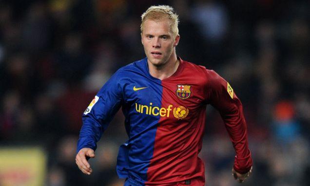 Eidur Gudjohnsen left Barcelona in the summer
