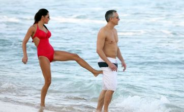 Lineker gets a good kicking in the Bux from stunner Danielle