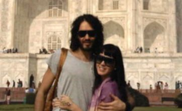 Katy Perry and Russell Brand's romantic trip to the Taj Mahal
