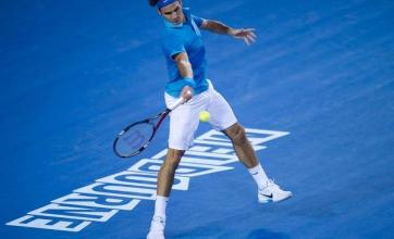 Federer relieved to keep streak going