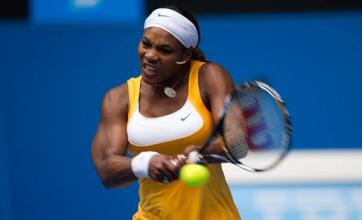 Serena fights back to win