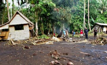 1,000 homeless after Solomons tsunami