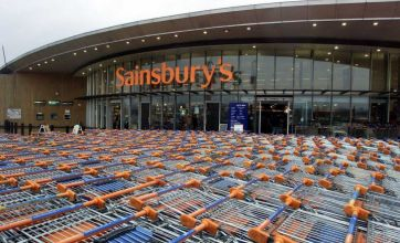 Sainsbury's profits fall despite sales increase