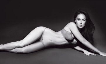 Megan Fox strips off to steal Victoria Beckham's Emporio Armani crown