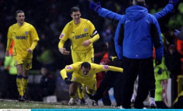 Boss puts the boot in to striker