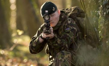 New rifles for UK soldiers to fight Taliban