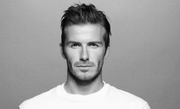 Beckham puts his shirt on Sport Relief effort