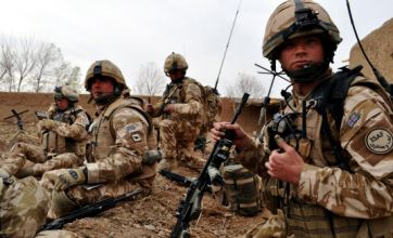 Troops ready for surge in Helmand