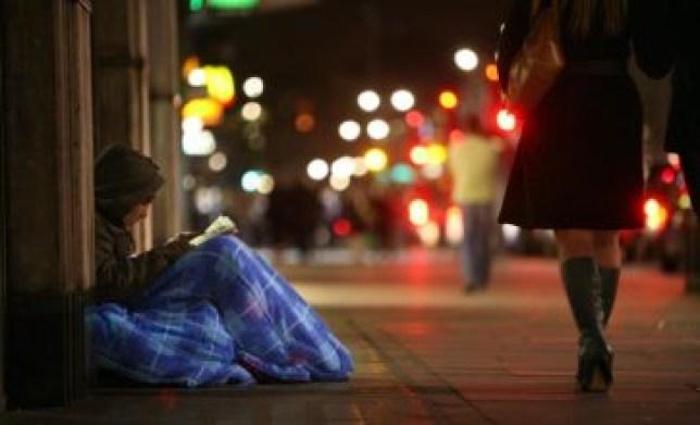 Wealth gap: The homeless of London