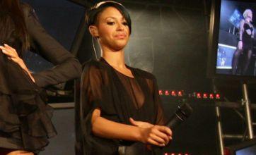 Sugababe Amelle 'takes secret model boyfriend backstage'