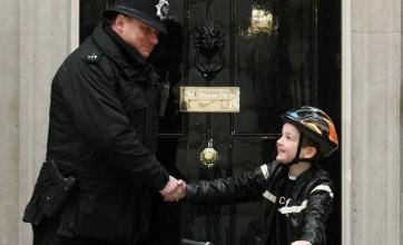 No 10 welcomes fundraiser Charlie