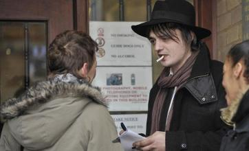 Pete Doherty fined for court heroin