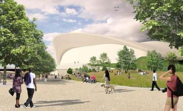 2012 park to become 'green oasis'