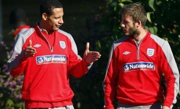 Becks backs captain Rio