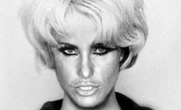 Katie Price transformed into hated Moors murderer Myra Hindley