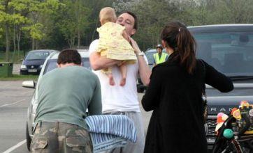John Terry and Wayne Bridge play happy families – before the sordid affair