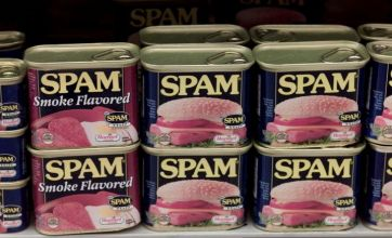 Army chef serves Spam, Spam, Spam and Spam