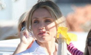 Cameron Diaz 'grinding' with Madonna's A-Rod