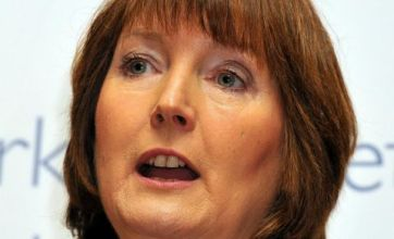 Harriet Harman to win Rear of the Year?