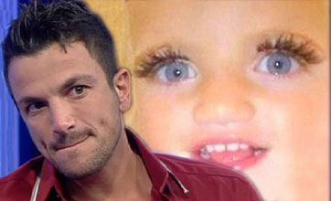 Peter Andre: I am disgusted with Katie for posting this photo of Princess