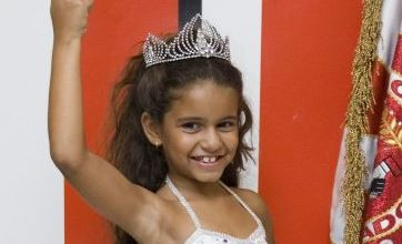 Choice of 7-year-old as samba queen causes uproar in