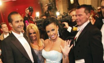 Katie Price shines amongst high society at Vienna Opera Ball