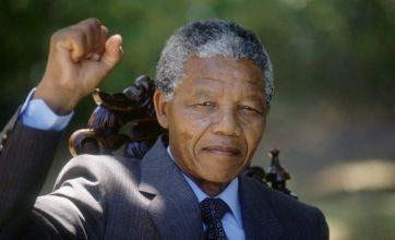 Video: Nelson Mandela's inaugural address as South African president