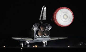 Endeavour space shuttle safely back on Earth