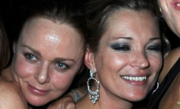 Cheeky Stella McCartney cups Tracey Emin's boobs at fashion week