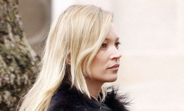 Kate Moss and Naomi Campbell mourn at Alexander McQueen funeral