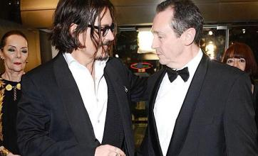 Paul: Depp honoured to work with me