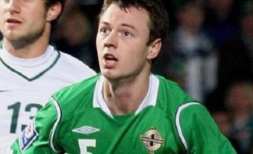 Evans out for Northern Ireland