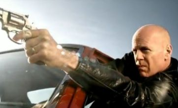 Bruce Willis stars in Gorillaz's Stylo music video