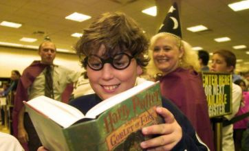 World Book Day 2010: JK Rowling's Harry Potter series tops UK gift poll