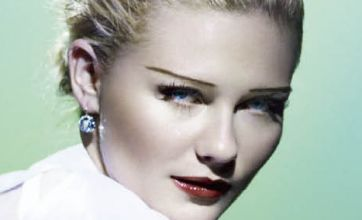 Kirsten Dunst transformed into old-fashioned 1930s film star