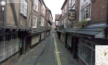 The Shambles in York voted most picturesque road in the country