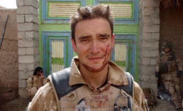 Soldier threw back Taliban hand grenade