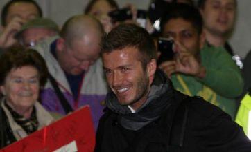 David Beckham's top 10 Man United moments