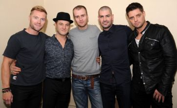 Boyzone offer support to love cheat Mark Owen