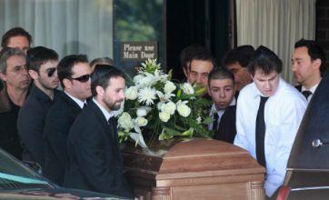 Corey Haim is buried as mum's frantic 911 phone call is leaked on net
