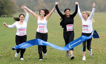Jade Goody's friends launch Race For Life event