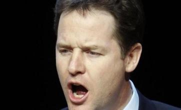 Clegg slams Cameron economy claim