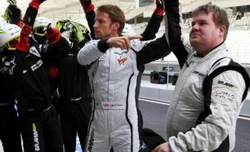 Jenson Button gets Corden pep talk