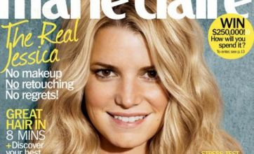 Jessica Simpson without make-up in revealing magazine shoot