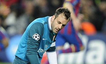 Almunia: Arsenal will beat Spurs and win Premier League