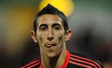 Benfica's Angel di Maria tipped for Manchester City