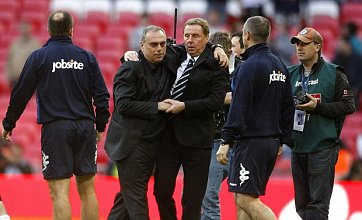 Harry Redknapp slams 'farcical' Wembley pitch after Spurs defeat