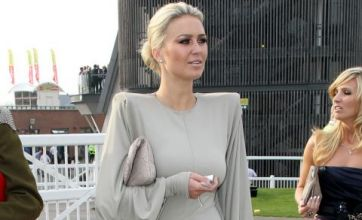 Alex Curran at the Grand National: Dare to wear